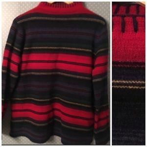 ✨ LRL Lauren Ralph Lambswool Sweater Pullover